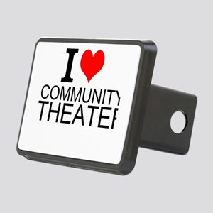 I Love Community Theater Hitch Cover