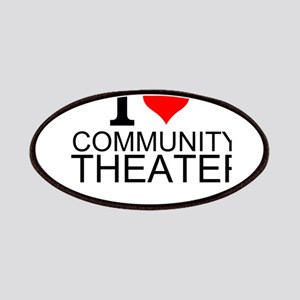 I Love Community Theater Patch