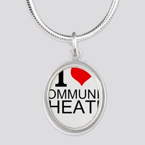 I Love Community Theater Necklaces
