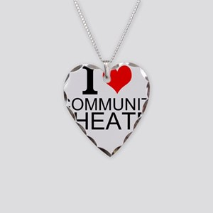 I Love Community Theater Necklace