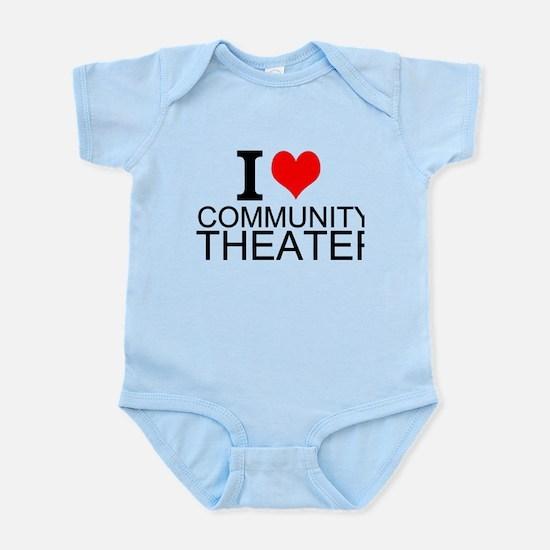 I Love Community Theater Body Suit