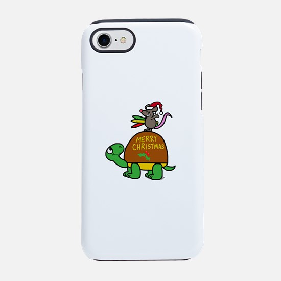 christmas turtle iPhone 8/7 Tough Case