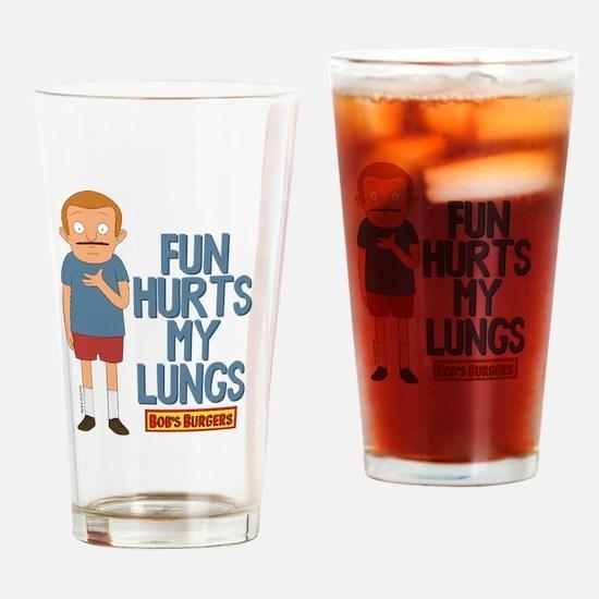 Bob's Burgers Rudy Drinking Glass