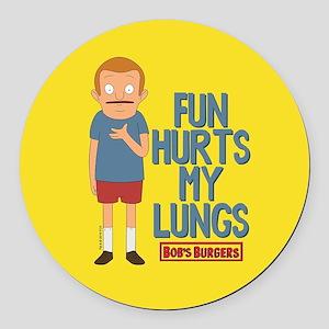 Bob's Burgers Rudy Round Car Magnet