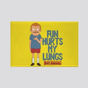 Bob's Burgers Rudy Rectangle Magnet