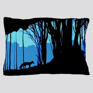 Fox in Woodlands Pillow Case