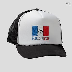 French Soccer Kids Trucker hat