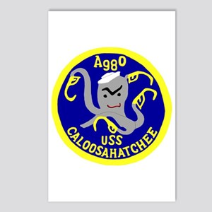 USS Caloosahatchee (AO 98) Postcards (Package of 8