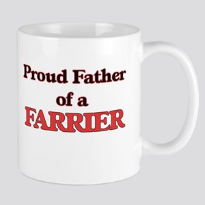 Proud Father of a Farrier Mugs