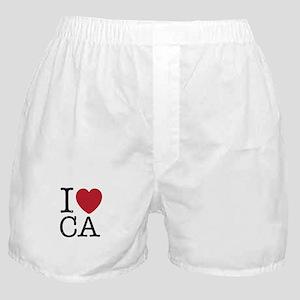 I Love CA California Boxer Shorts