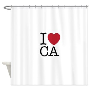 Los Angeles California Shower Curtains
