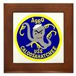 USS Caloosahatchee (AO 98) Framed Tile