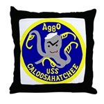 USS Caloosahatchee (AO 98) Throw Pillow