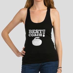 Best Curling Coach Ever Racerback Tank Top