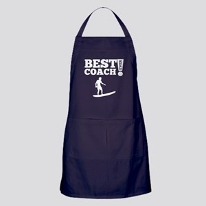 Best Surfing Coach Ever Apron (dark)