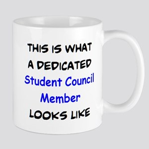 dedicated student council member 11 oz Ceramic Mug
