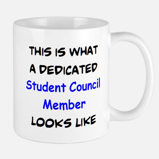 dedicated student council member Mug