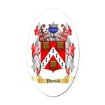 Physick Oval Car Magnet