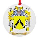 Phlipon Round Ornament