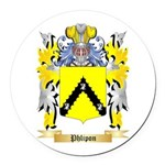Phlipon Round Car Magnet