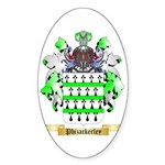 Phizackerley Sticker (Oval)