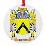 Phipson Round Ornament