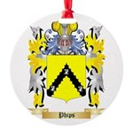 Phips Round Ornament
