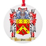 Phin Round Ornament