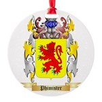 Phimister Round Ornament