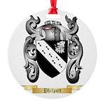 Philpott Round Ornament