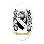 Philpott Oval Car Magnet