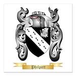 Philpott Square Car Magnet 3