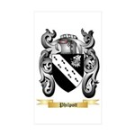 Philpott Sticker (Rectangle 50 pk)