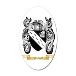 Philpott 20x12 Oval Wall Decal