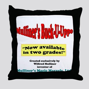 Mulliner's Buck-U-Uppo Throw Pillow