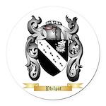 Philpot Round Car Magnet