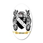 Philpot 20x12 Oval Wall Decal