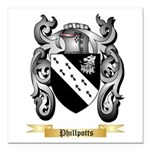 Phillpotts Square Car Magnet 3