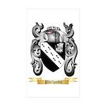 Phillpotts Sticker (Rectangle 10 pk)
