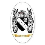 Phillpotts Sticker (Oval 50 pk)