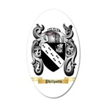 Phillpotts 20x12 Oval Wall Decal