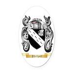 Phillpott Oval Car Magnet