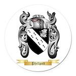 Phillpott Round Car Magnet