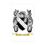 Phillpott Sticker (Rectangle 50 pk)