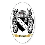 Phillpott Sticker (Oval 10 pk)