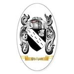 Phillpott Sticker (Oval 50 pk)