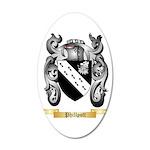 Phillpott 20x12 Oval Wall Decal