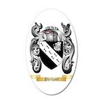 Phillpott 35x21 Oval Wall Decal
