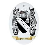 Phillpott Oval Ornament