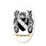 Phillpot 35x21 Oval Wall Decal